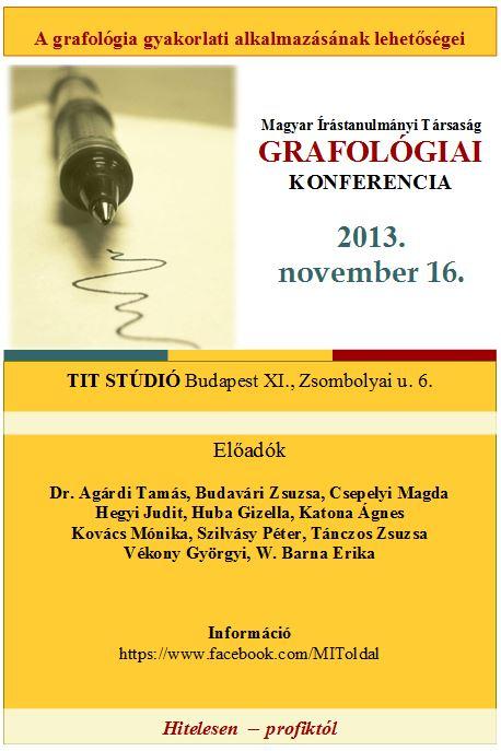 2013. nov. 16. grafokonf plakat